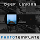 Deep Linking Photography Template - ActiveDen Item for Sale