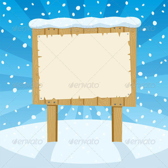 GraphicRiver Sign & Snow 126722