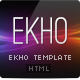 EKHO Unique Fullscreen Template - ThemeForest Item for Sale