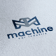 Machine Logo - GraphicRiver Item for Sale