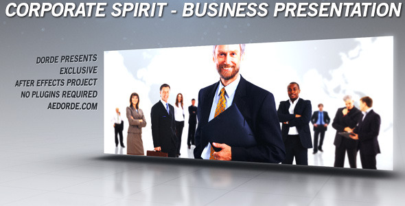 After Effects Project - VideoHive Corporate Spirit Business Presentation 29 ...