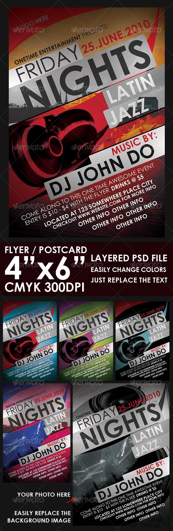 GraphicRiver Contemporary Flyer Template 105852