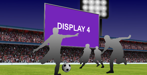 After Effects Project - VideoHive Soccer Promo 3D Scene 105916