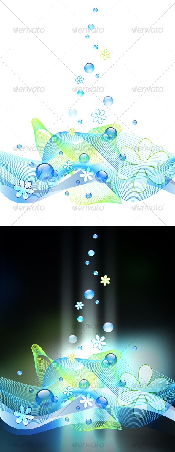 GraphicRiver Bubbly Background 106009