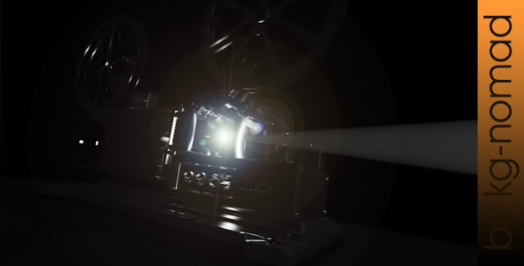 After Effects Project - VideoHive Cinema Projector 2972887