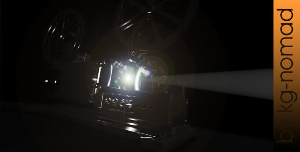 VideoHive Cinema Projector 2972887