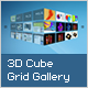 3D Cube Grid Gallery With 3D Flip - ActiveDen Item for Sale