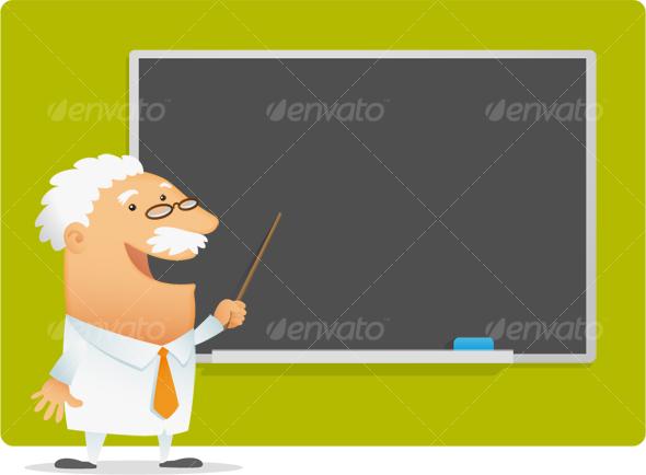 GraphicRiver Professor presentation 106044