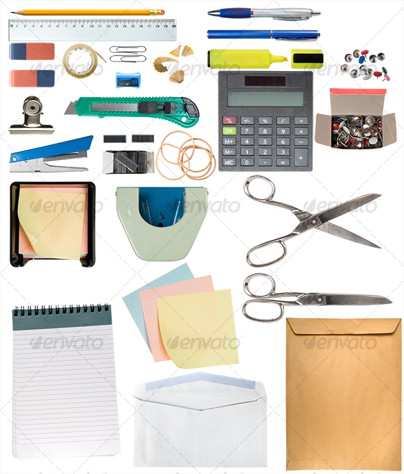 GraphicRiver Desk Items Pack 106079