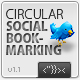 Circular Social Bookmarking AS2 v1.1 - ActiveDen Item for Sale