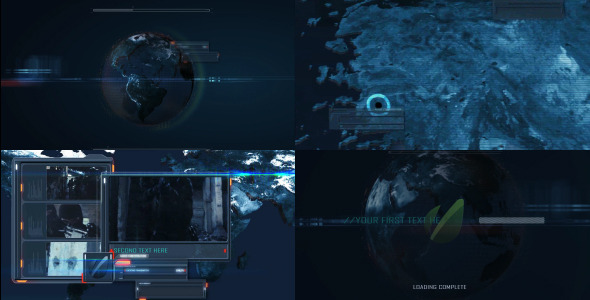 After Effects Project - VideoHive Planet Radar Control 2978374