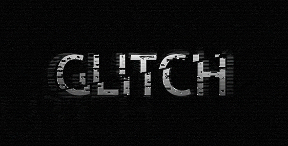 After Effects Project - VideoHive  GLITCH 106230