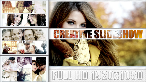 After Effects Project - VideoHive Creative Slideshow 2954500
