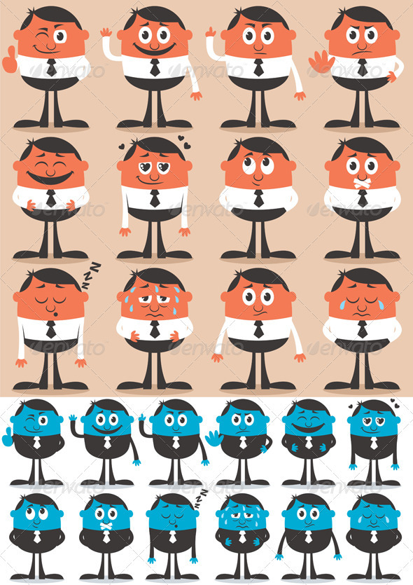 GraphicRiver Character Emotions 2 2144048