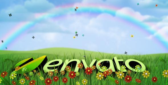 VideoHive Green Earth Natural All Seasons Logo 2983519