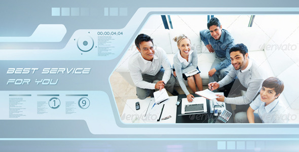 VideoHive Futuristic Business 2990477