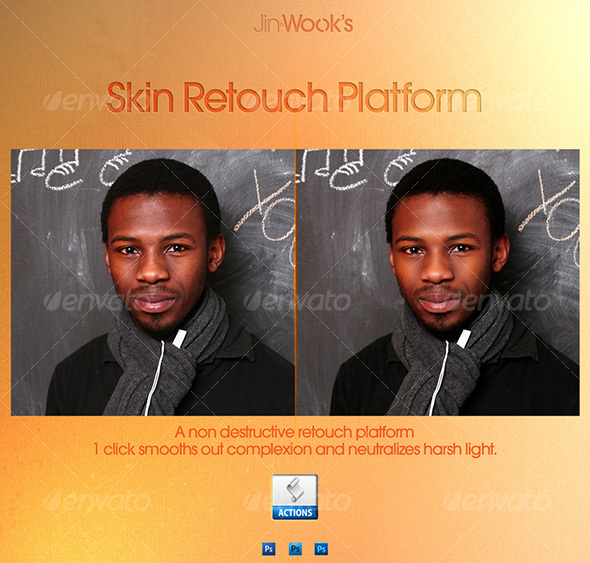 GraphicRiver JinWook s Skin Retouch Platform 106678