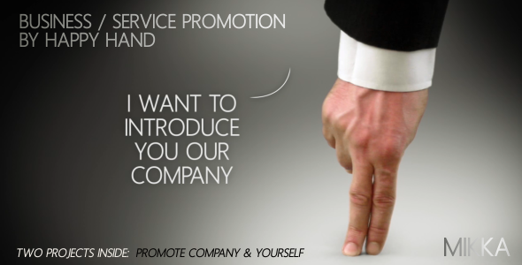 VideoHive Business Service Promotion by Happy Hand 2977878
