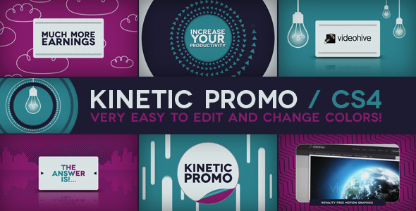 VideoHive Kinetic Promo 3002865