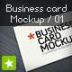 Business card mockup display - Smart template 01 - GraphicRiver Item for Sale
