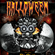 Robotic Halloween Party Flyer (psd) - GraphicRiver Item for Sale
