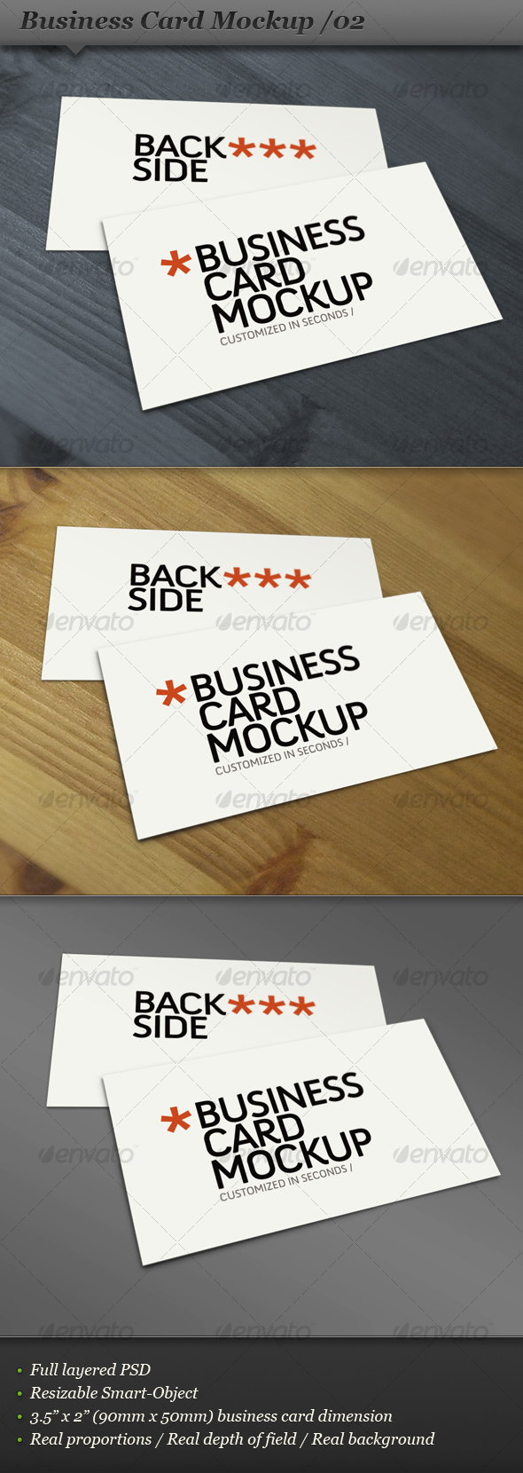 GraphicRiver Business card mockup display Smart template 02 106983