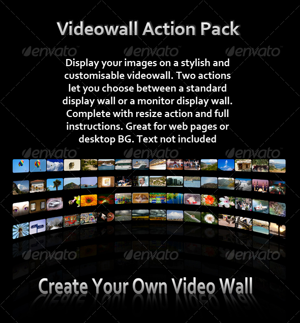 GraphicRiver Video Wall Action Pack 85270