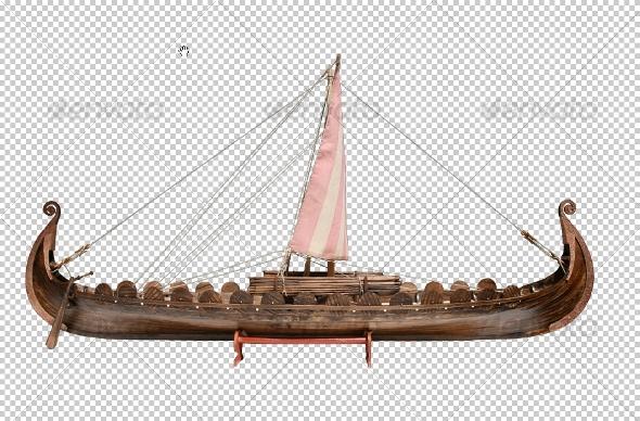GraphicRiver Viking Ship 107063