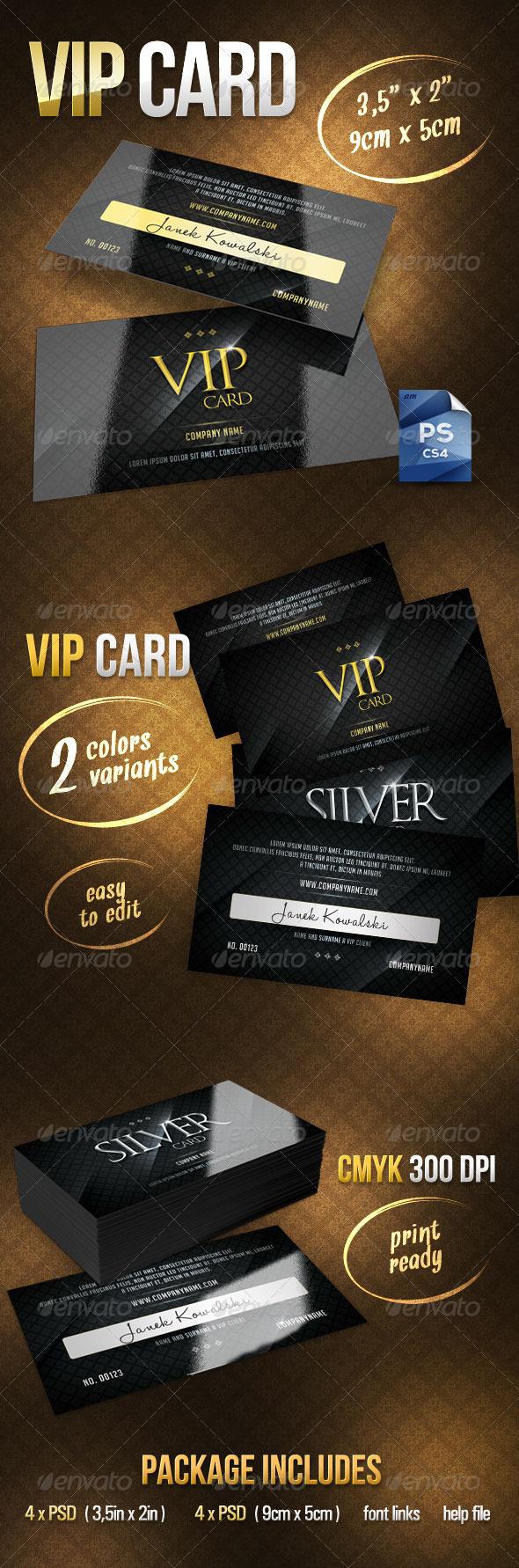 GraphicRiver Vip Card 2976851