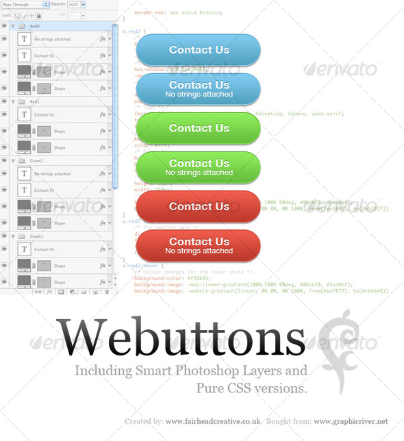 GraphicRiver Webuttons 107116