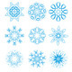 Snowflakes  set - GraphicRiver Item for Sale
