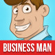 Business Man Mascot - GraphicRiver Item for Sale