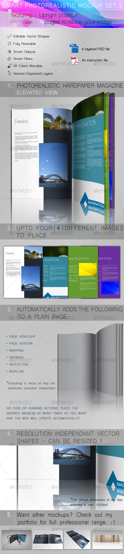 GraphicRiver Smart Photorealistic Mockup Set 3 107195