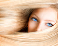 Blond Girl. Blonde Woman with Blue Eyes - PhotoDune Item for Sale