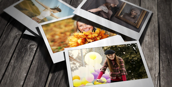 After Effects Project - VideoHive Falling Photos 2 3013463