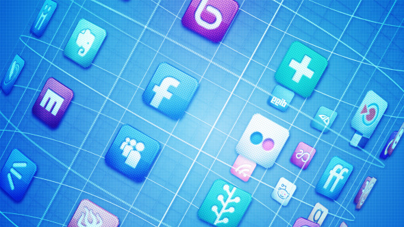 After Effects Project - VideoHive Social Media Network 3014479