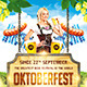 Oktoberfest festival poster - GraphicRiver Item for Sale