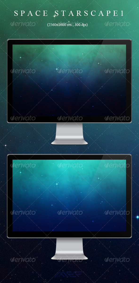 GraphicRiver Space Starscape Backgrounds 1 107346