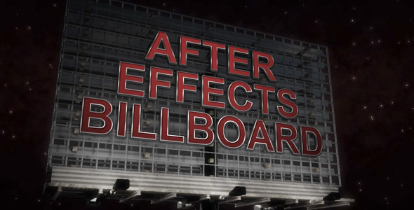 VideoHive Billboard Promo 3017298