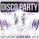 Disco Night Party Flyer - GraphicRiver Item for Sale