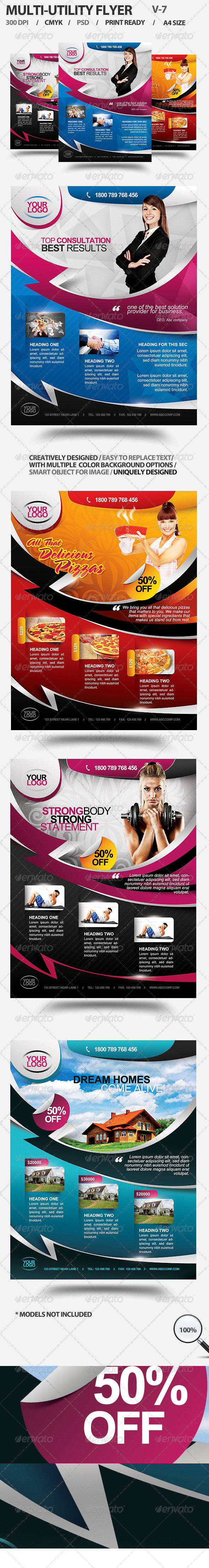 GraphicRiver Multi-utility Flyer For Different Business 7 3018053