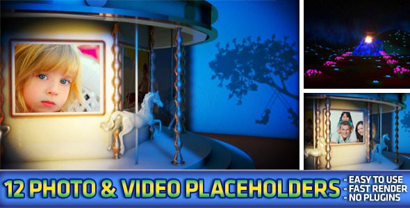 VideoHive Carousel Photo & Video Album 2993494