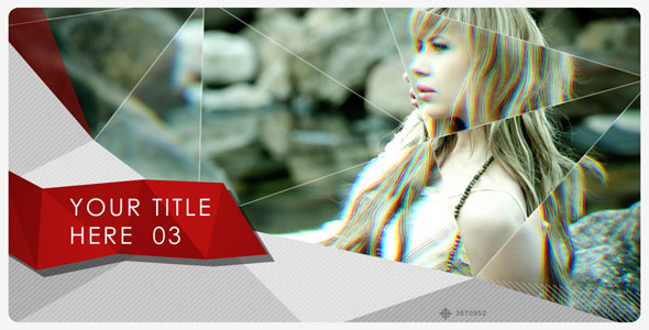 After Effects Project - VideoHive Glass and Paper 3022914