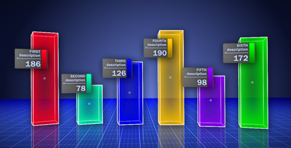 After Effects Project - VideoHive handy bar graph 106700