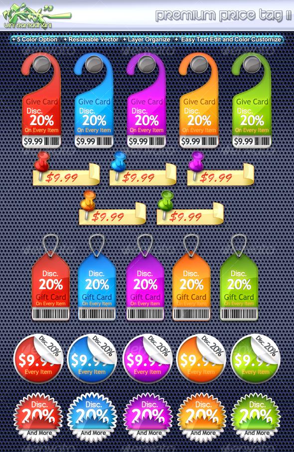 GraphicRiver Premium Price Tag 2 107583