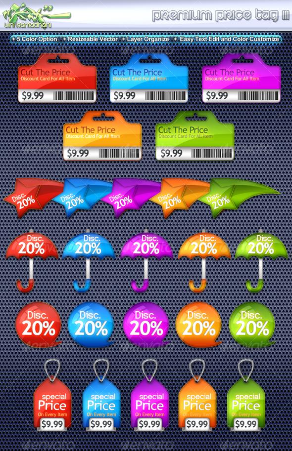 GraphicRiver Premium Price Tag 3 107584