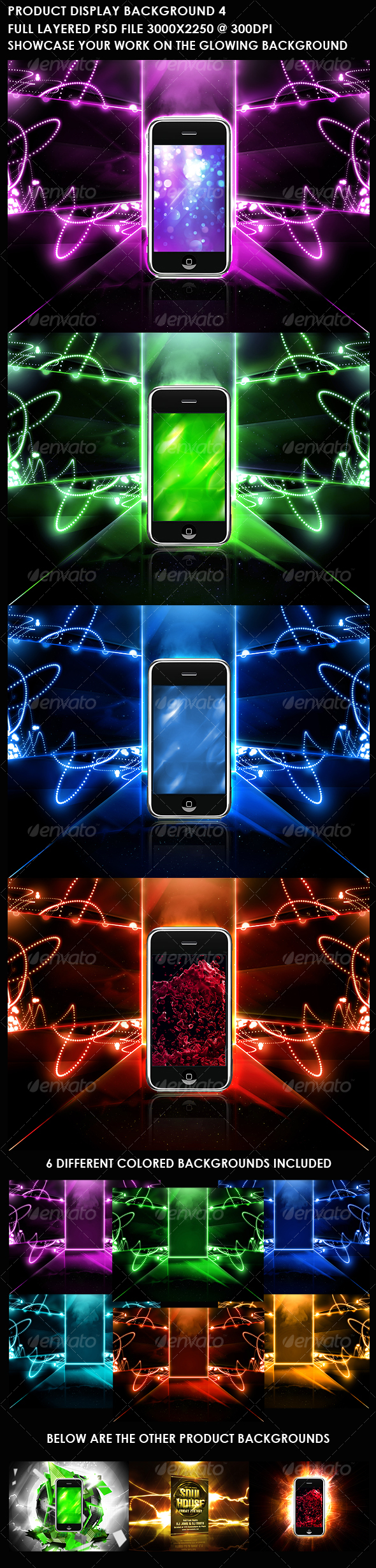 GraphicRiver Product Display Background 4 107642