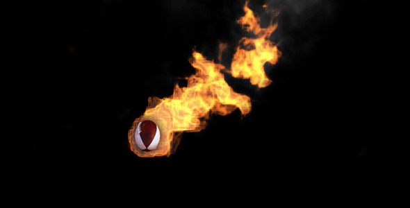 After Effects Project - VideoHive Sport Fireball Transition Shot 307470