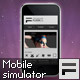Mobile Site Simulator AS3 OOP - ActiveDen Item for Sale