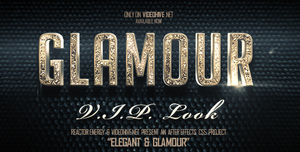 After Effects Project - VideoHive Elegant And Glamour Titles 3027340